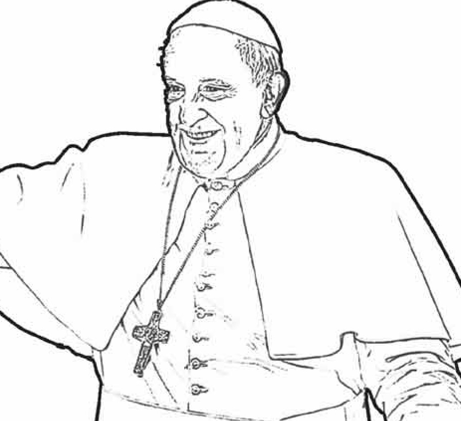 roman catholic coloring pages - photo#11